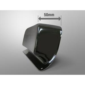 マジカルレーシング CBR600RR 05-06 レーシングボディワーク シートエンドパッド マジカル製シートカウル専用 FRP 黒 塗装済み