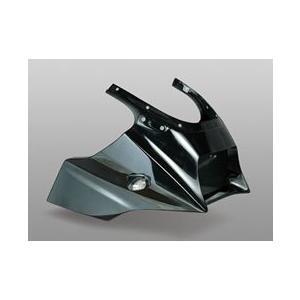 マジカルレーシング GPZ900R 90- アッパーカウル(マジカル製カーボンウインカー専用) FRP 黒