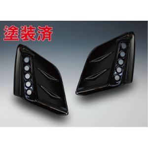 ノブレッセ S660 JW5 フォグダクトフレーム 塗装済 5連穴有 ガンメタ [ポイント3倍]
