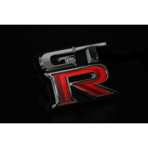ロェン GT-R R35 LEDイルミネーションエンブレム フロント