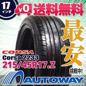 タイヤ サマータイヤ Corsa 2233 215/45R17 91W|autoway2