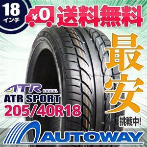 タイヤ サマータイヤ ATR SPORT 205/40R18 86W|autoway2