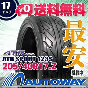 タイヤ サマータイヤ ATR SPORT 123S 205/40R17 84W autoway2