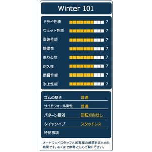 スタッドレスタイヤ ATR RADIAL ATR SPORT Winter 101スタッドレス 175/65R14【セール品】|autoway2|04