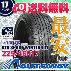スタッドレスタイヤ ATR RADIAL ATR SPORT Winter 101スタッドレス 225/45R17【セール品】|autoway2