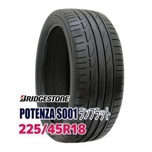 タイヤ サマータイヤ ブリヂストン POTENZA S001 RUNFLAT 225/45R18 91W|autoway2