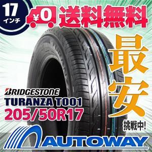 タイヤ サマータイヤ ブリヂストン TURANZA T001 205/50R17 93W XL|autoway2