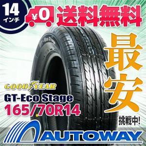 タイヤ サマータイヤ グッドイヤー GT-Eco Stage 165/70R14 81S|autoway2
