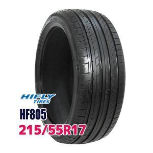 サマータイヤ ハイフライ HF805 215/55R17 98W