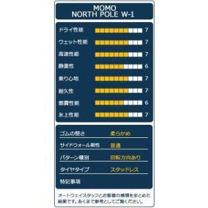 スタッドレスタイヤ MOMO Tires NORTH POLE W-1 スタッドレス 185/55R15【セール品】|autoway2|04