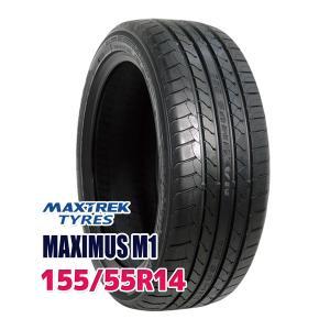 タイヤ サマータイヤ マックストレック MAXIMUS M1 155/55R14 69V|autoway2