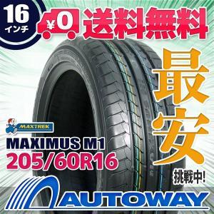 タイヤ サマータイヤ MAXTREK MAXIMUS M1 205/60R16 92H