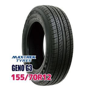 タイヤ サマータイヤ MAXTREK GENO G3 155/70R12 73T|autoway2