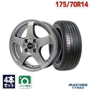 タイヤ サマータイヤホイールセット MAXTREK MAXIMUS M1 175/70R14|autoway2