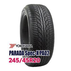 タイヤ サマータイヤ ヨコハマ PARADA Spec-X 245/45R20 99V autoway2