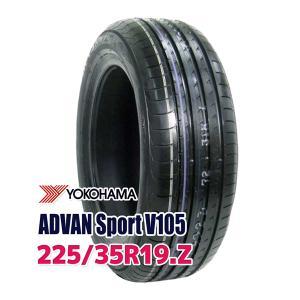 タイヤ サマータイヤ ヨコハマ ADVAN Sport V105 225/35R19 88Y|autoway2