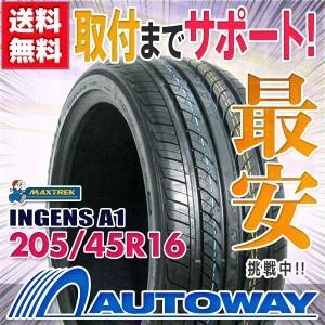 サマータイヤ MAXTREK INGENS A1 205/45R16 87W XL autoway