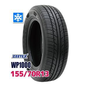スタッドレスタイヤ ZEETEX WP1000 スタッドレス 155/70R13 75T 2019年...