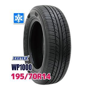 スタッドレスタイヤ ZEETEX WP1000 スタッドレス 195/70R14 91T 2019年...