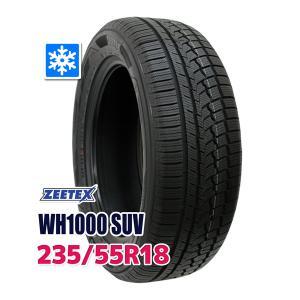 スタッドレスタイヤ ZEETEX WH1000 SUV スタッドレス 235/55R18 104H ...