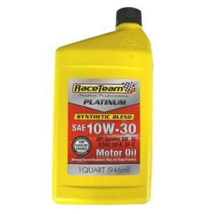 RaceTeam レースチーム  SAE 10W-30  PLATINUM エンジンオイル SN 1QT 946ml  並行輸入品 autoweb