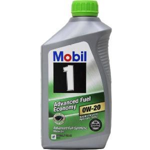 Mobil モービル  エンジンオイル Mobil1 モービルワン  0W-20 Advanced Fuel Economy アドバンスド フューエル エコノミー  1Qt 946ml  並行輸入品|autoweb