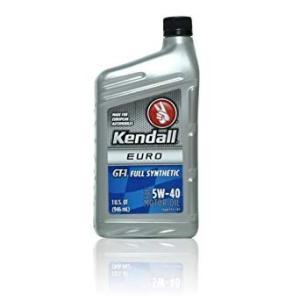 Kendall ケンドル GT-1 EURO  5W40 フルシンセティック 1QT 946ml 1本|autoweb