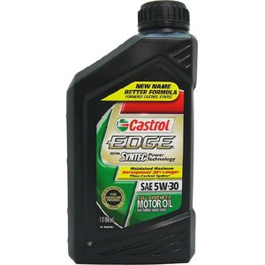Castrol カストロール  エンジンオイル EDGE エッジ  5W-30 FULL SYNTHETIC 100%化学合成油 1QT 946ml  並行輸入品 autoweb