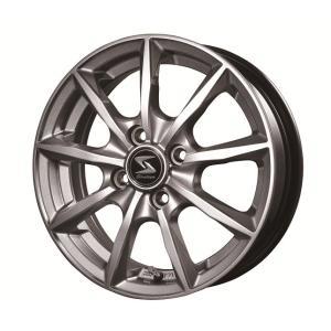 軽自動車用アルミホイール Strategy RX ストラテジーRX   14インチ 4.5J オフセット+45 4穴 PCD100|autoweb