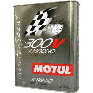 【2リットル】MOTUL モチュール  エンジンオイル 300V 【10W40】 CHRONO クロノ  エステル・コア 並行輸入品