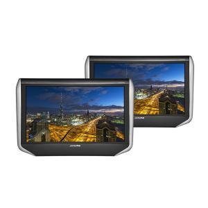 ALPINE アルパイン  SXH10T 10.1型WXGAヘッドレスト取付け型リアビジョン・2台パック|autoweb