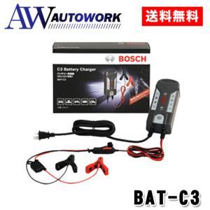 ボッシュ バッテリー充電器 6V 12V BAT-C3 バイ...