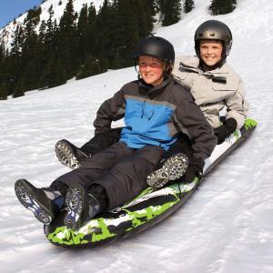 雪ぞり 子供 2人乗り スノーチューブ SPORTSSTUFF スポーツスタッフ カオス