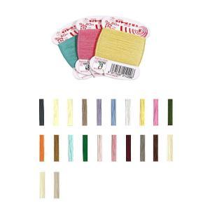 【フジックスFUJIX】タイヤー 絹手縫糸-2 9号 40m 【C1-2】|avail-komadori