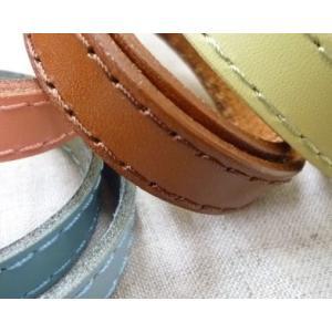 【イナズマINAZUMA】革ステッチテープ 糸同色 15mm KSTD-15 【C1-4】|avail-komadori