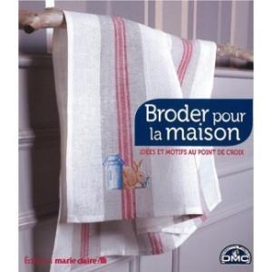 ★在庫限り★ E8314846【DMC-BOOK・図案集】Broder pour la maison◆◆【C3-10】|avail-komadori