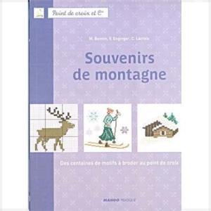 14921-1【DMC-BOOK・図案集】Souvenirs de montagne◆◆【取寄せ品】事前通知なく廃刊になる場合があります【C3-10】|avail-komadori