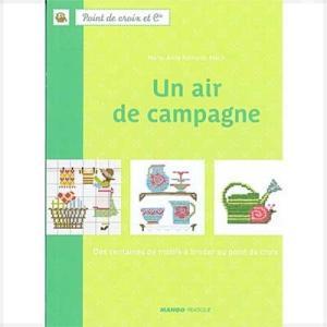 14960-1【DMC-BOOK・図案集】Un air de campagne◆◆【取寄せ品】事前通知なく廃刊になる場合があります【C3-10】|avail-komadori