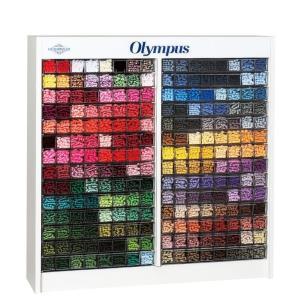 【OLYMPUS オリムパス】  刺しゅう糸 25# 25番  434色×6カセ  マルチディスプレ...