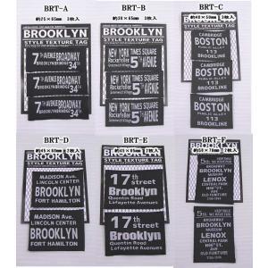 【ブルックリンスタイル織タグ】 ※ゆうパケットOK! 【C3-8】|avail-komadori