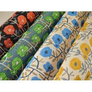 ♪新色追加しました♪ H301-1810 ゴブラン織り 北欧風フラワー◆◆(数量×50cm)【C2-6】U1|avail-komadori