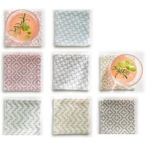 【ルシアンLECIEN】 hidamari 刺し子布 コースターが4枚作れるクロス サイズ約10cm×10cm 【C3-8】 U-OK|avail-komadori
