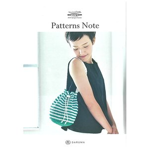 KN13<BR>【ダルマ】小冊子 Patterns Note <BR>2018 Spring&Summer◆◆ <BR>【C4-12】 avail-komadori
