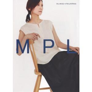 M183 【mパターン研究所】 フレンチスリーブタックブラウス(おとな)(型紙)【取寄せ品】 【C3-10】|avail-komadori