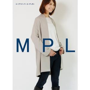 M186 【mパターン研究所】 ローブドオーバーカーディガン(おとな)(型紙)【取寄せ品】 【C3-10】 avail-komadori