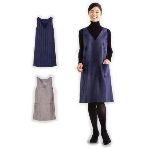 5536  【フィットパターンサン】 Vネックジャンパースカート(型紙)【取寄せ品】 【C3-10】|avail-komadori