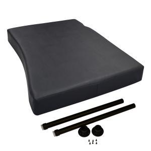 FUSO 17スーパーグレート 新型 フラットキット 助手席用 マット フラットマット ベース板 助手席マット コンソール ボード ベース テーブル|avanzar-luxstyle