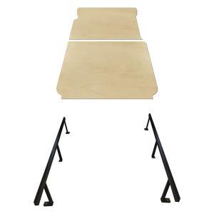 トヨタ 200系 ハイエース 標準ボディ S-GL カーゴキット S ベッドキット ベッド ベットキット キット 棚 板 収納 荷台 荷室 荷室棚 トランポ フロア パネル|avanzar-luxstyle