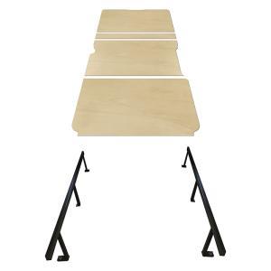 トヨタ ハイエース S-GL スーパーGL 【ワイドボディ】 カーゴキット L ベットキット ベッドキット ベット ベッド ビジネストランポ 棚板 収納棚 床 フロアパネル|avanzar-luxstyle