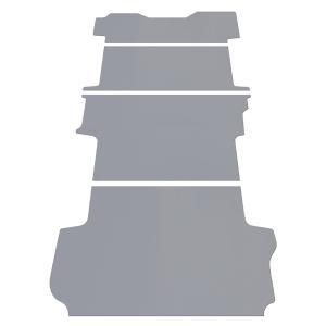 NV350 キャラバン GX 標準ボディ フロアパネル L フロア パネル 床 床キット 床板 棚 棚板 板 収納 内装 床張り 床貼 荷室 荷台 収納棚 プレミアムGX|avanzar-luxstyle
